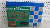 6PC SOCKET DRAWER ORGANIZER